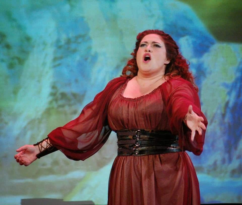 US soprano wins Europe debut
