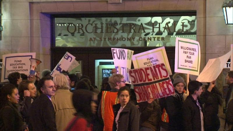 chicago symphony protest
