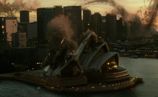 sydney opera house destroyed