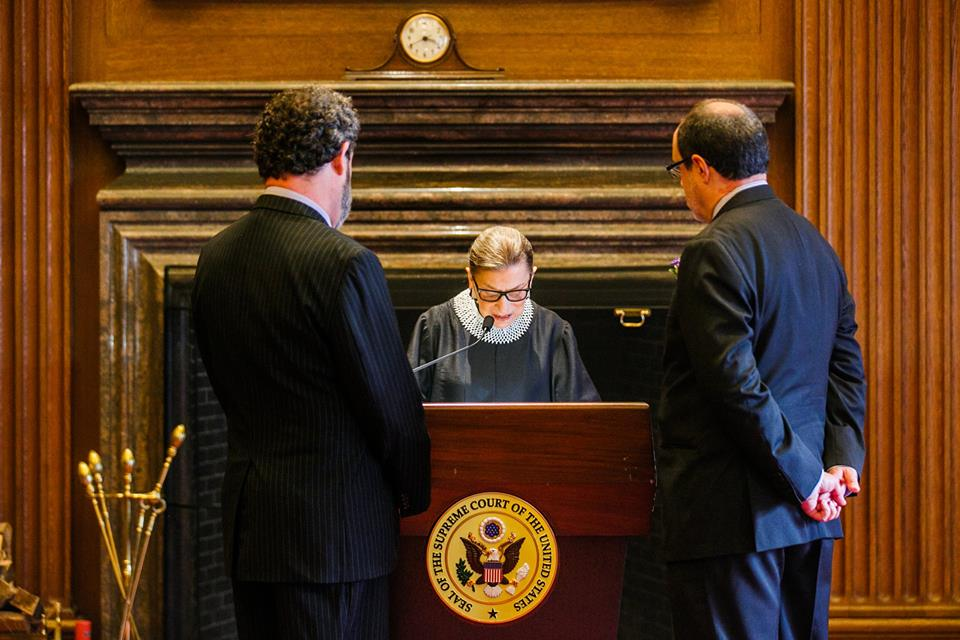 US composer is married by Supreme Court Justice
