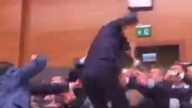Video: Parliamentary debate, Turkish style