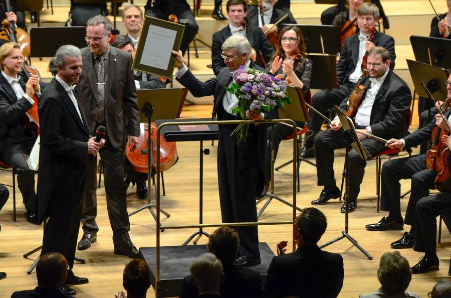 Herbert Blomstedt: Fritz Reiner would fire you for nothing
