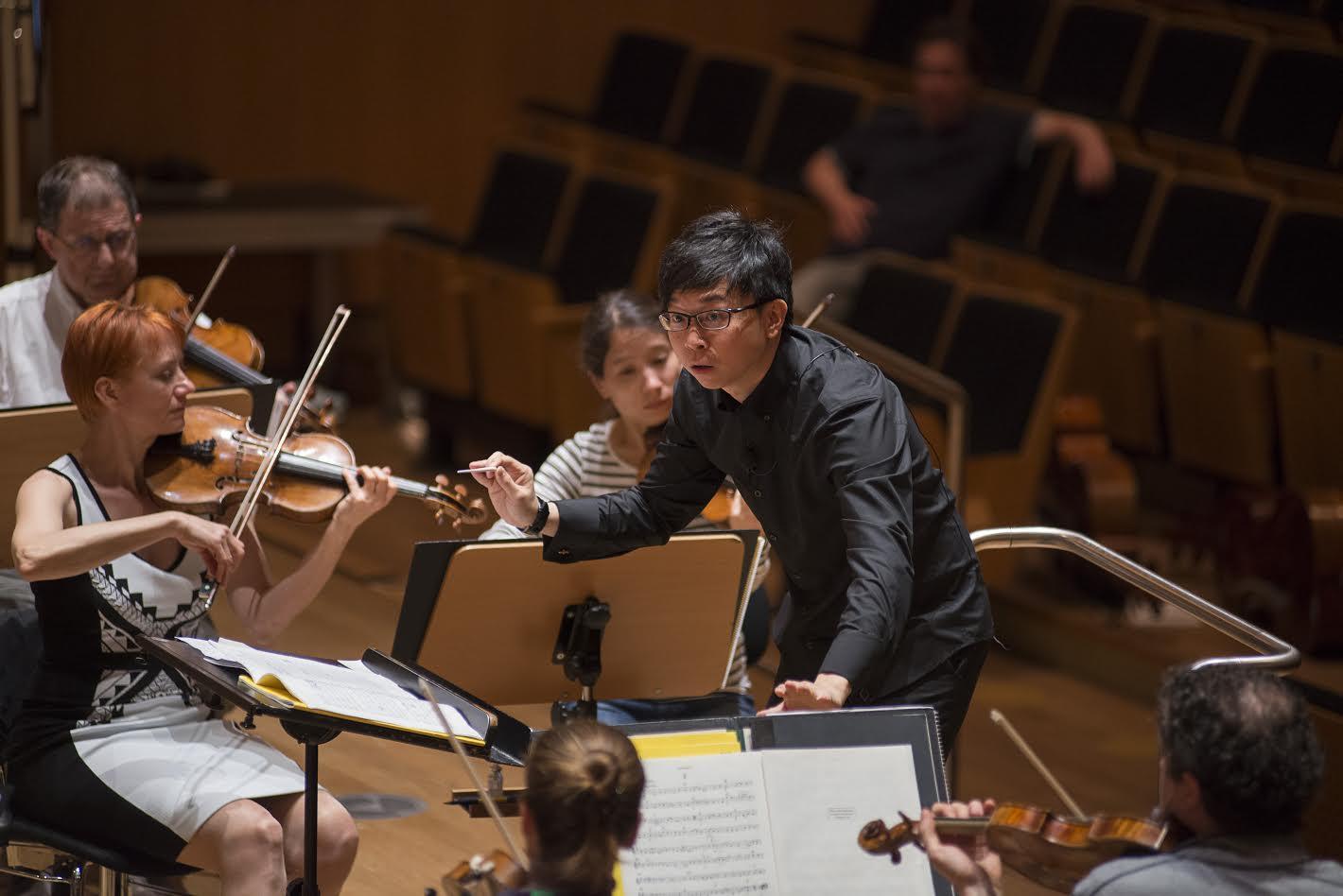Bamberger Symphoniker. Mahler Competition 2016. Dirigentenwettbewerb. Kah Chun Wong. Bamberg, 11.-13.05.2016