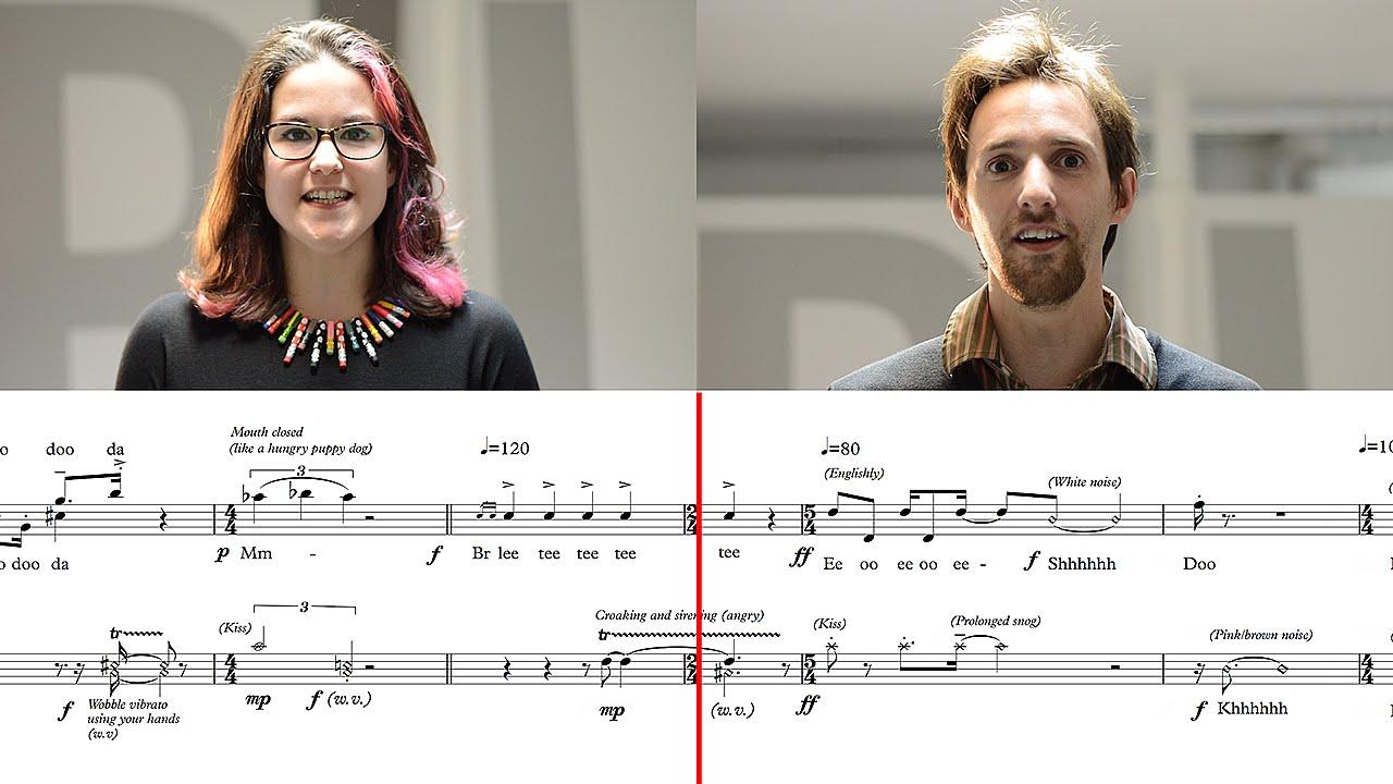 From the internet dawn: a classical choir sings modem noise