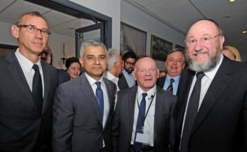 sadiq khan chief rabbi