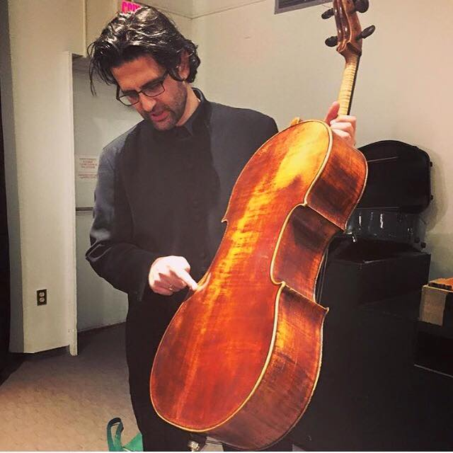 Cello star has strings confiscated at airport