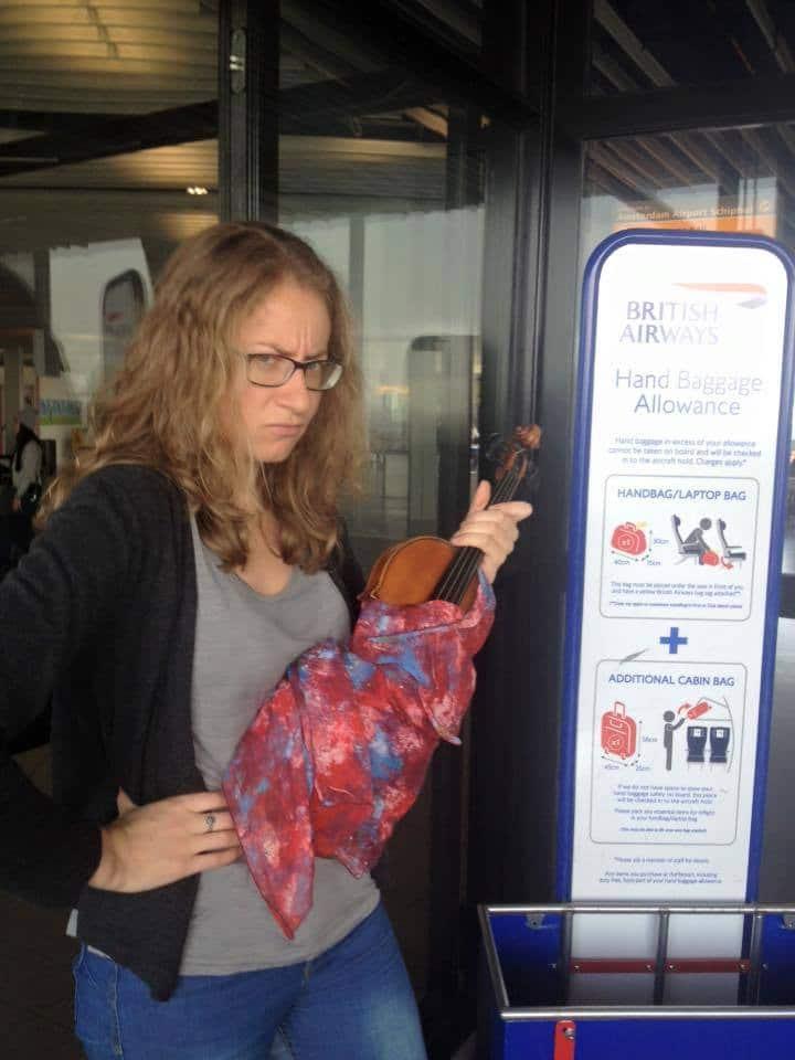 cecilia bernardini violin