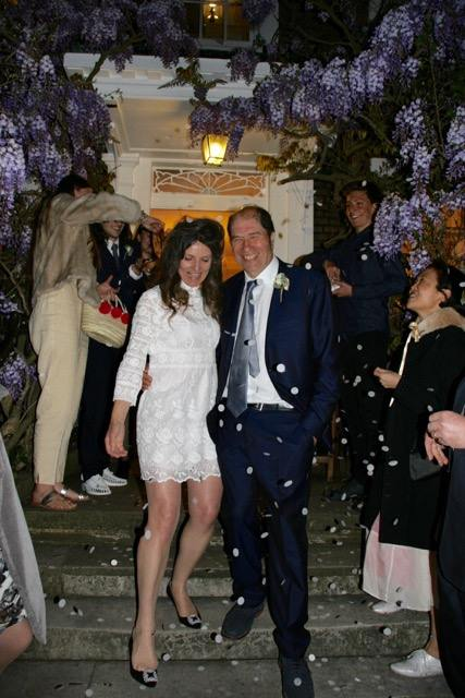 Happy news: Composer remarries