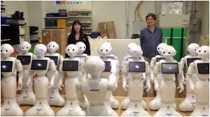 Robots sing Beethoven. Warning: Don't click
