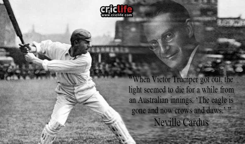 Neville Cardus, RIP