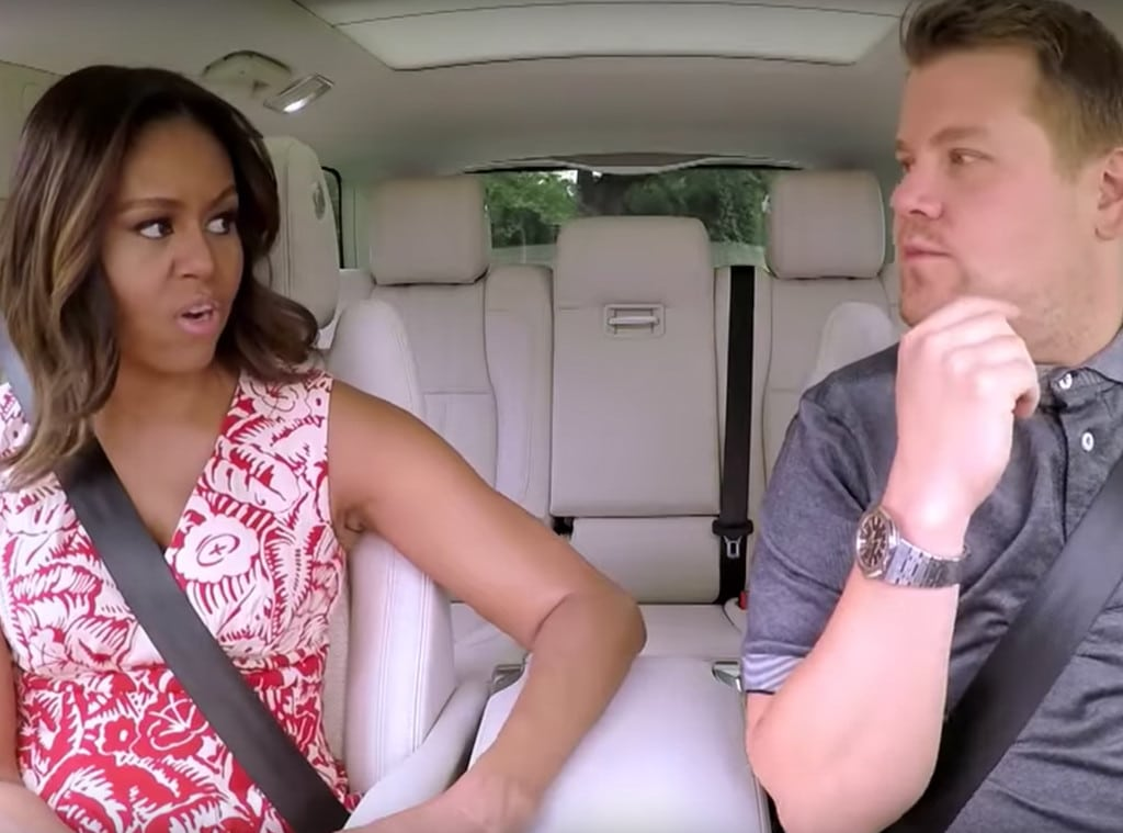 Watch (icymi) Michelle Obama sing with James Corden