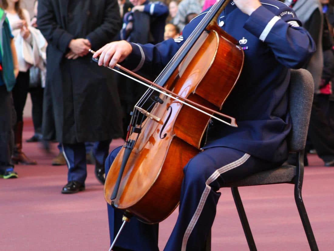 air force cello