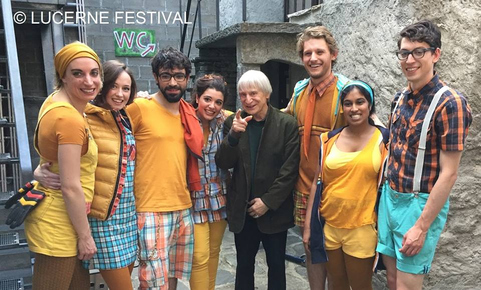 Lucerne Festival mourns its resident clown