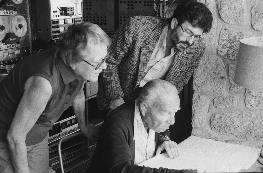Death of composer's American widow, aged 92
