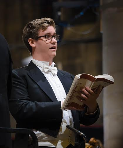 Teenager steps in for tenor at major festival opening
