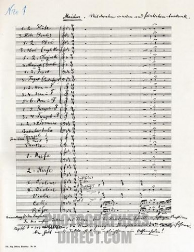 mahler second ms