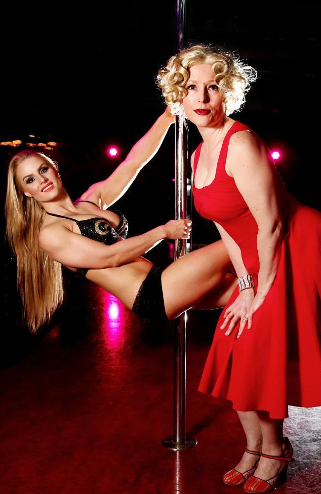 opera pole dancer