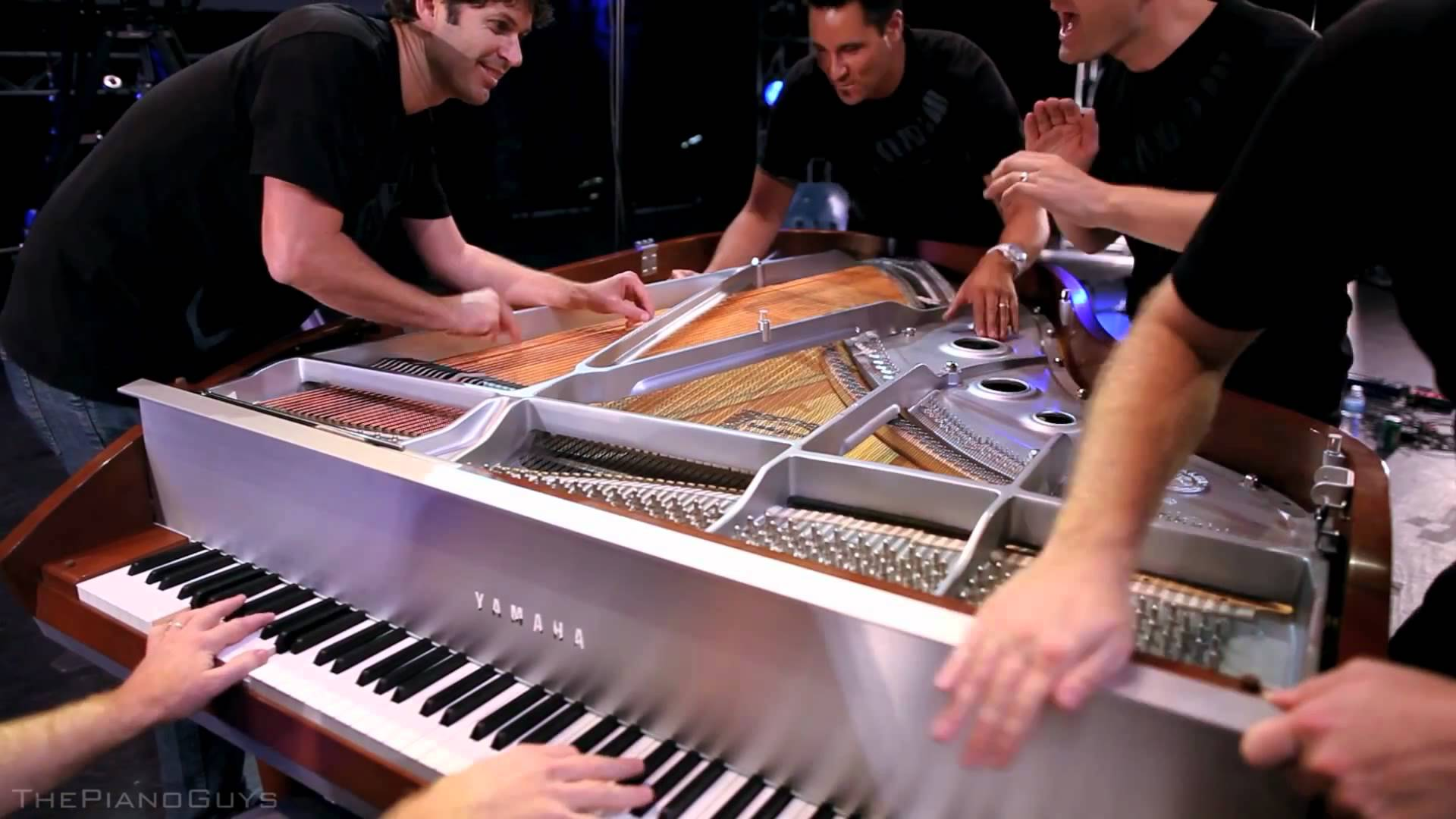 Trump signs Piano Guys for inauguration