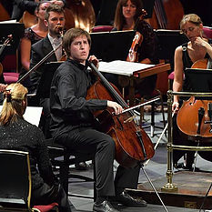 Cellist who saved a BBC Prom with minutes to spare