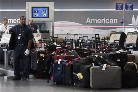 american air luggage