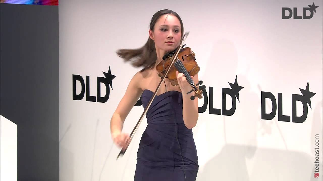 Uber boss parts with violin