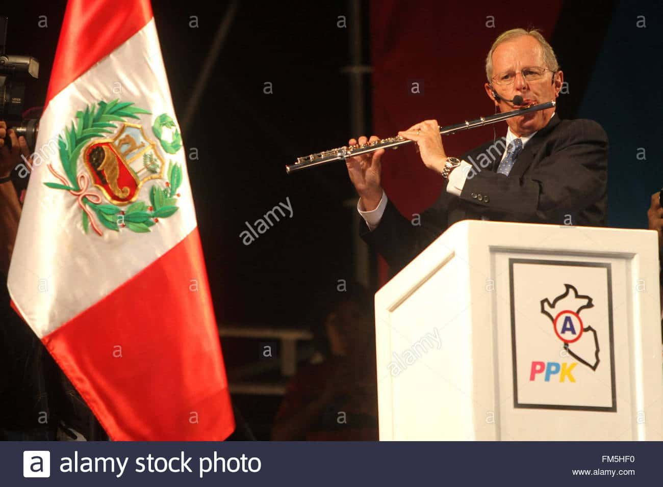 Peru's new president is a former London music student