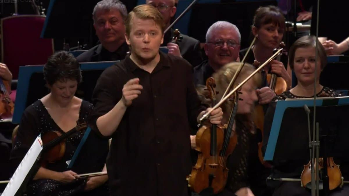 How to make a Proms audience laugh? Tell them a Finnish joke.