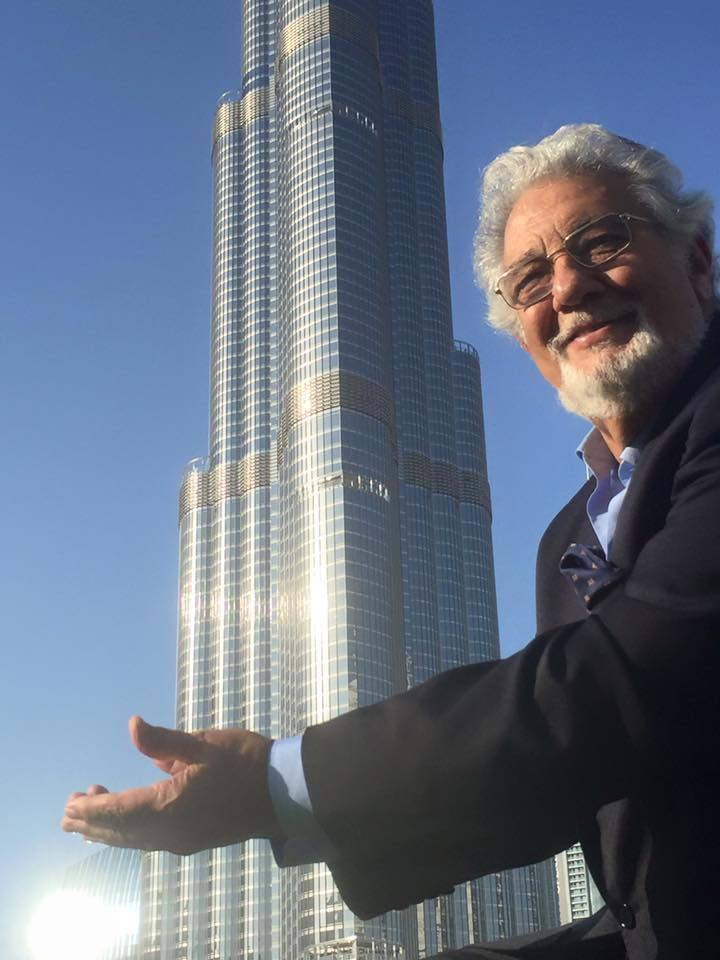 Me, who? Placido Domingo is honoured with Austria's music theatre prize