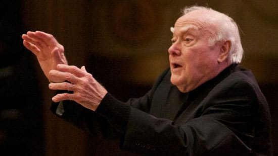 America mourns a formative chorus conductor