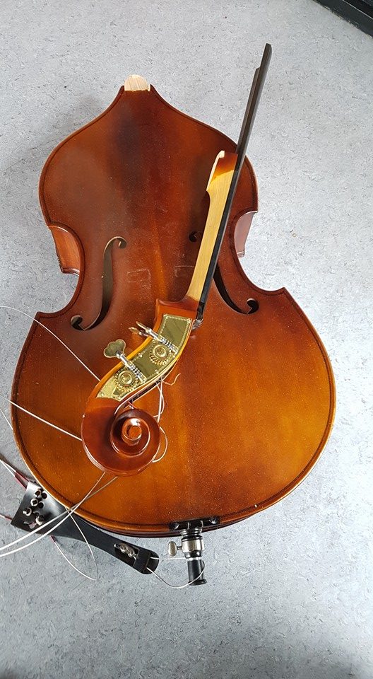Air outrage: Look what they did to my double-bass!