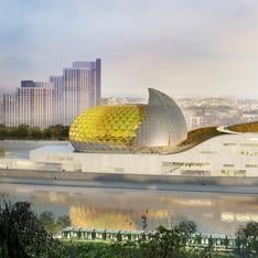 In other French news, Paris opens new concert hall