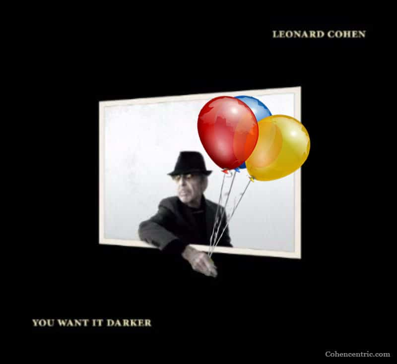 The email read: Can I visit your studio? Leonard (Cohen)