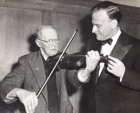 Did you ever see Menuhin play Churchill's cigar box?