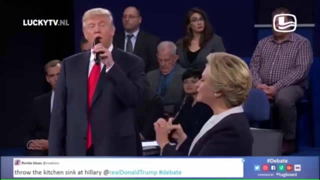 Hillary Clinton vs Donald Trump: The music mix