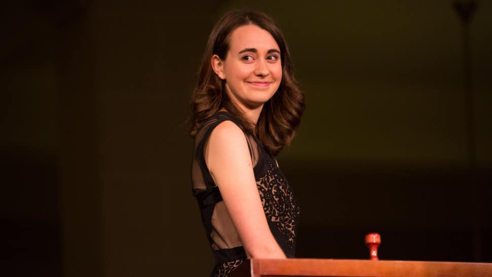 The youngest woman conductor on Broadway