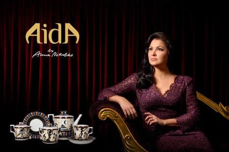 Watch: Anna Netrebko warms up for Aida