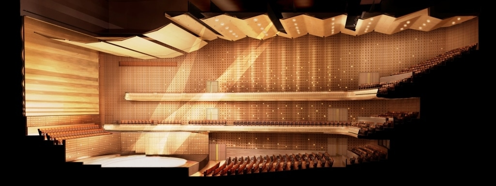Europe's newest concert hall is built by Brits
