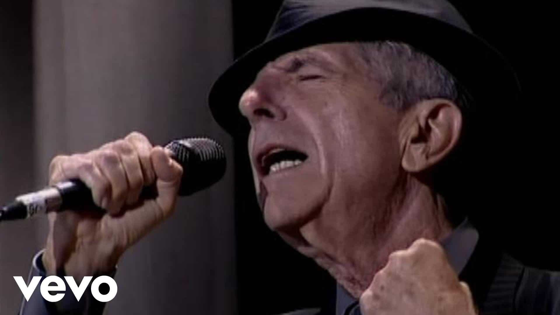 From leonard cohen s funeral today slipped disc for Leonard cohen music videos