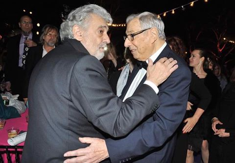 Placido Domingo pays tribute to his late pop promoter