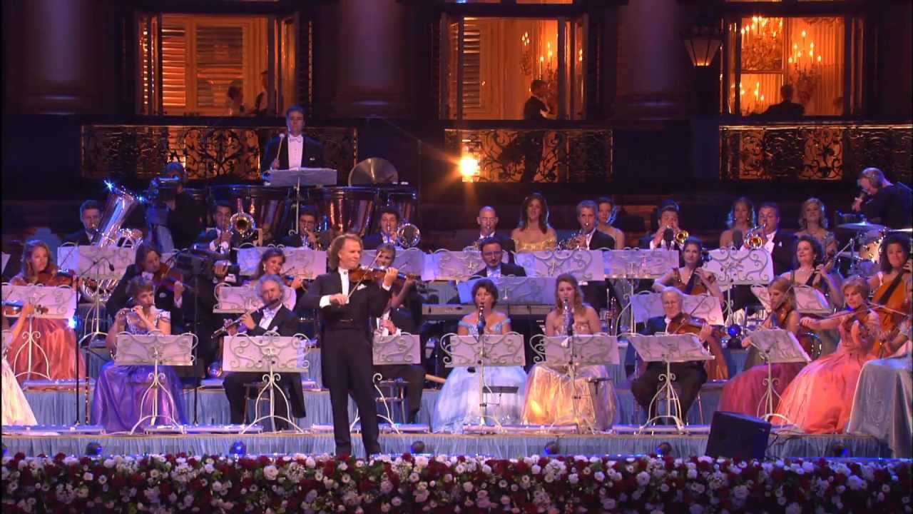 Andre Rieu: My orchestra travels with its own cooks