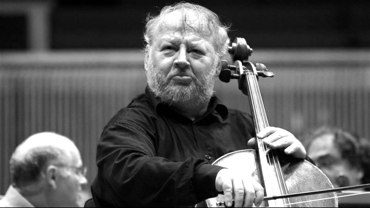 Tragic news: A great cellist has died, at 65