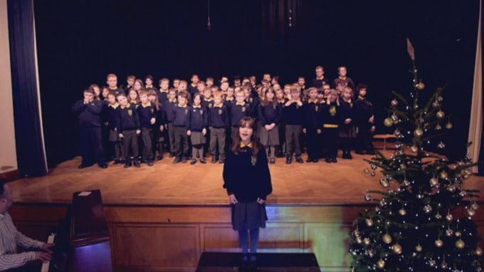 A special-needs school Hallelujah goes viral