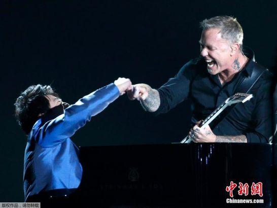 Just in: Lang Lang joins Metallica