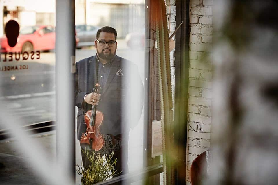 LA Phil violinist moonlights among the downcast