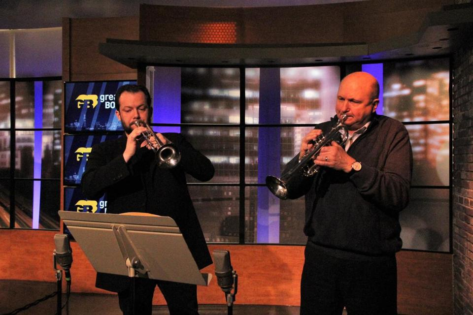 Watch: Andris Nelsons goes back to the trumpet