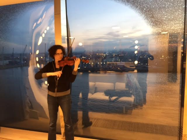 What it's like to play in the Elbphilharmonie