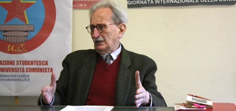 Death of a vital Italian modernist