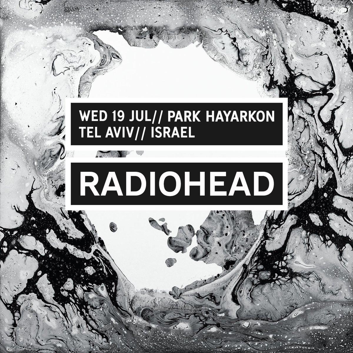 Radioheads to Israel