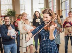 Just in: Hilary Hahn's had a girl