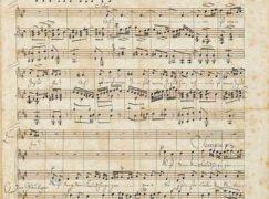 Mendelssohn's Bach manuscript turns up for sale